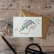 Hunter Paper Co. I Am Totally Smitten Card